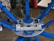 Изготовление карусельных печатных станков для шелкографии.