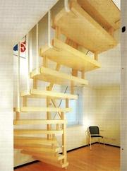 Деревянные лестницы любой сложности