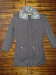 пальто из плащевой ткани