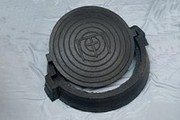 Люк канализационный резиновый в комплекте корпус крышка (нагрузка 12, 5