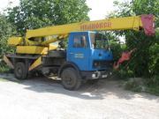 услуги автокрана 14 тонн харьков