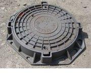 Люк канализационный чугунный тип Т,  тип С,  тип Л,  Харьков,  Украина