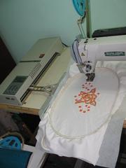 Вышивальное оборудование от производителя.