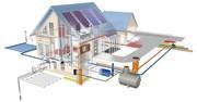 Расчет систем отопления,  водоснабжения,  канализации и монтаж