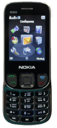 Nokia jaso j6303  на две сим карты.
