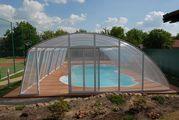 Поликарбонатные накрытия для бассейнов