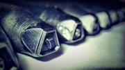 Клейма ударные ручные комплектные,  цифры (Арабские,  Римские),  Буквы (Р