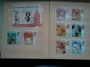 Почтовые марки 1970-90 годов