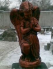 ландшафтная скульптура  Ангел скорбящий