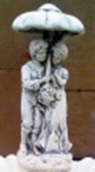 ландшафтная скульптура  Влюблённые под зонтом