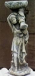 ландшафтная скульптура  Девочка с чашей
