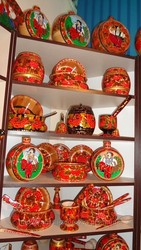 Украинские сувениры,  глиняная и деревянная посуда