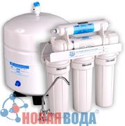 фильтр обратного осмоса для очистки воды с помощью мембраны