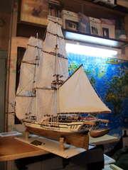 Продам Авторскую модель (парусной яхты Нева - Россия 1831.)