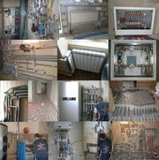 Отопление и сантехника частного дома в Харькове и области