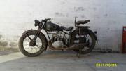 Мотоцикл NSU 1937 года выпуска