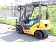 Вилочный погрузчик Komatsu  FG15LC на 1.5 тонны