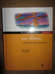 Basic Marketing : A Global-Managerial Approach  Основы маркетинга