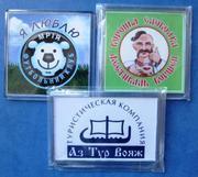 дисконтные карты,  пластиковые визитки и магниты