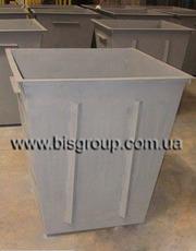 Металлический мусорный бак