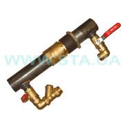 Байпасы с шаровым клапаном  для систем отопления  производства СТА