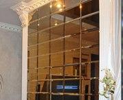 Изготовление и монтаж зеркальной плитки
