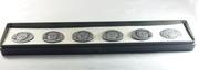 Набор настольных медалей,  посвященный полету кораблей Союз и Аполлон.