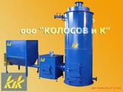 Котел на щепе и тырсе - 300 кВт,  Украина (Харьков)