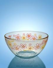 Промышленное декорирование стеклянной посуды