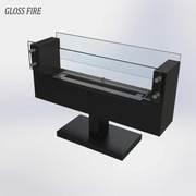 Биокамины. Биокамин Sharm модель 2 ТМ Gloss Fire
