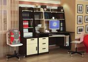 Компьютерный стол для студента с уникальным дизайном