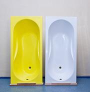Ванны композитные стеклопластиковые прямоугольные 150x70 см АКВА KOMEL