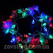 Гирлянда 3 Светодиодная — LED Цветы-40
