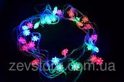 Гирлянда 4 Светодиодная -LED Цветы-40