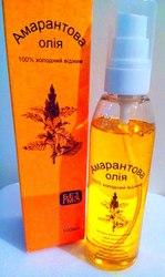 Амарантовое масло купить для регенерации волос, лица,  тела,  чистое,  первый отжим,  100 мл