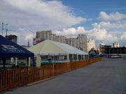 Изготовим шатры сборно-разборные больших размеров.