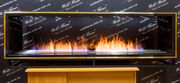 Сквозной встраиваемый очаг по индивидуальному заказу Wild Flame