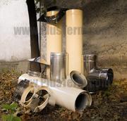 Дымоходы 0.5,  0.8 и 1.0 мм от производителя PlusTerm