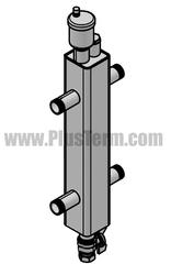 Распределительные коллекторы и гидрострелки для системы отопления от п