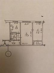 Продам СВОЮ 2 комнатную квартиру на ст. м. Советской Армии