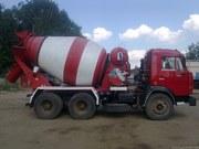 Доставка миксерами бетона,  цементного раствора и др.  по Харькову
