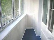 Обшивка балконов по евро стандартам.  Откосы.