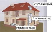 Утепление фасадов, домов, квартир  теперь уже весной