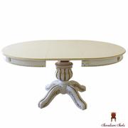 Купить круглый стол раздвижной Богема