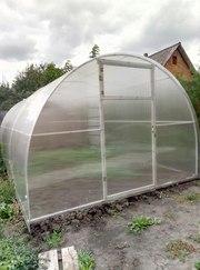 Завод готовых теплиц из поликарбоната высокого качества с гарантией 10