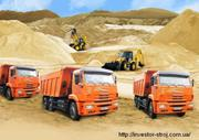 Гипсокартон,  OSB,  Штукатурки,  Клея,  песок,  щебень в мешках - доставка