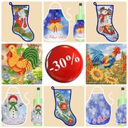 Акция на схемы и наборы для вышивки бисером от mamino-lukoshko.com