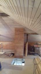 Обшивка домов деревом внутри и снаружи