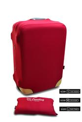 чехол на чемодан красный Coverbag