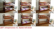 Двухъярусная кровать Карина-Люкс свободной комплектации Высокое качество!